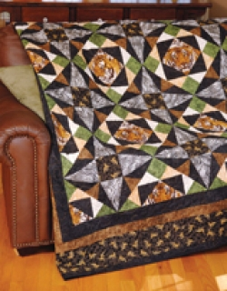 Tigers Quilt