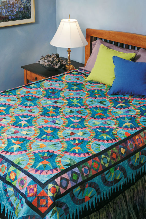 Tip Tuesday: Paper Piecing Quilts & Projects - Fons & Porter - The ... : paper pieced quilts - Adamdwight.com