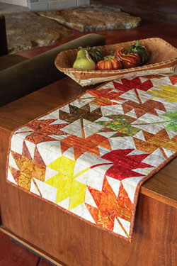 Tossed Leaves Quilt