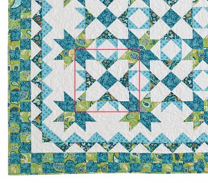 TreasureQuilt block 300x264 Hidden Treasure, Behind the Design