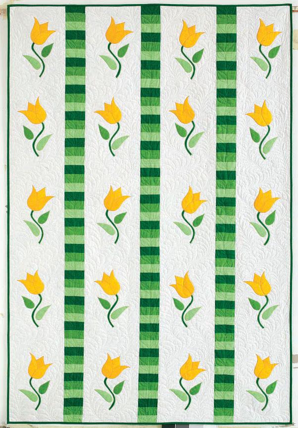 TulipTwist 10 Spring Quilt Patterns & Project Ideas