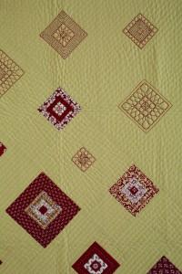 TumblingTiles Zen 200x300 Zentangle, Beginner Level Free Motion Quilting and Tumbling Tiles