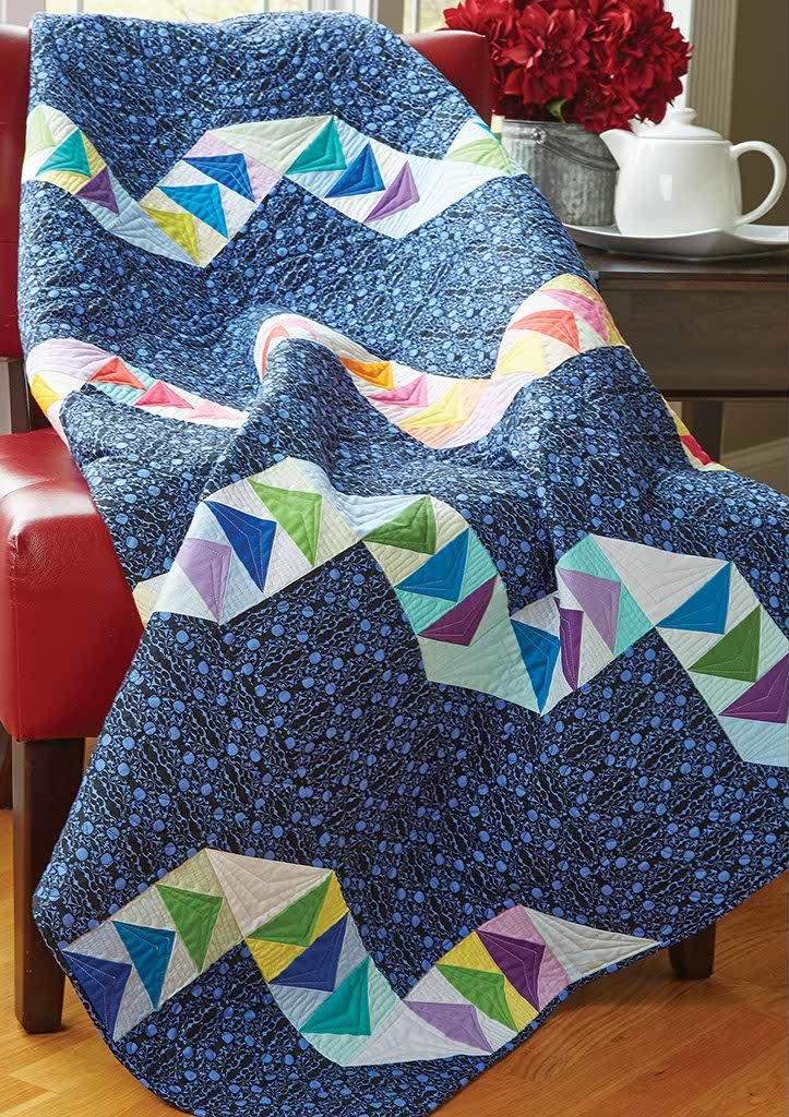 Twisted Ribbons Quilt Fons Amp Porter The Quilting Company
