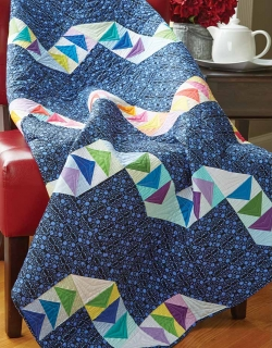 Twisted Ribbons Quilt Pattern