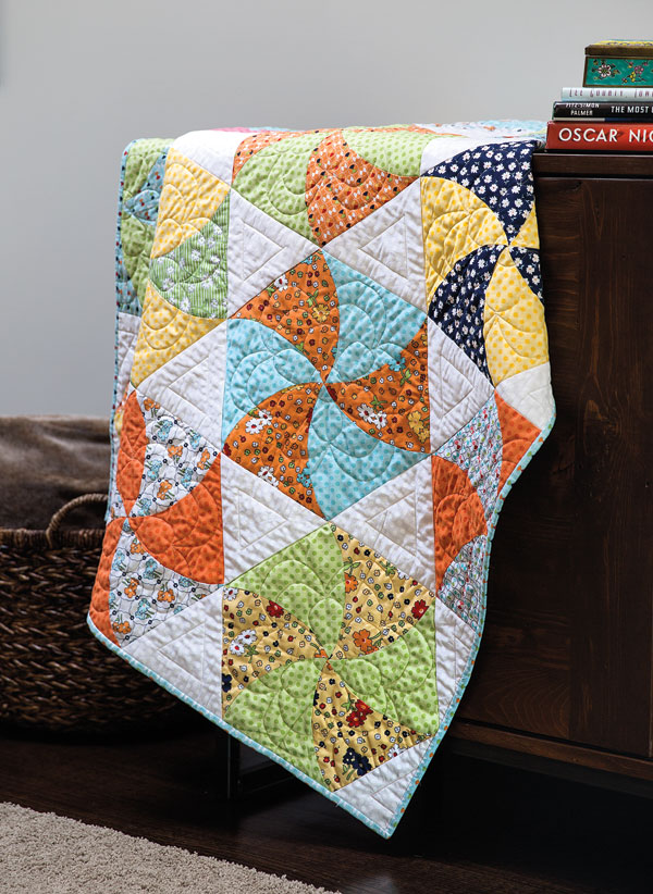 2509 Twisted Triangle Quilt Tutorial Twisted Triangles Fons