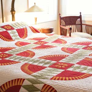 Vintage View: FREE An 1870 New York Beauty Bed Quilt Pattern - The ... : vintage bed quilts - Adamdwight.com