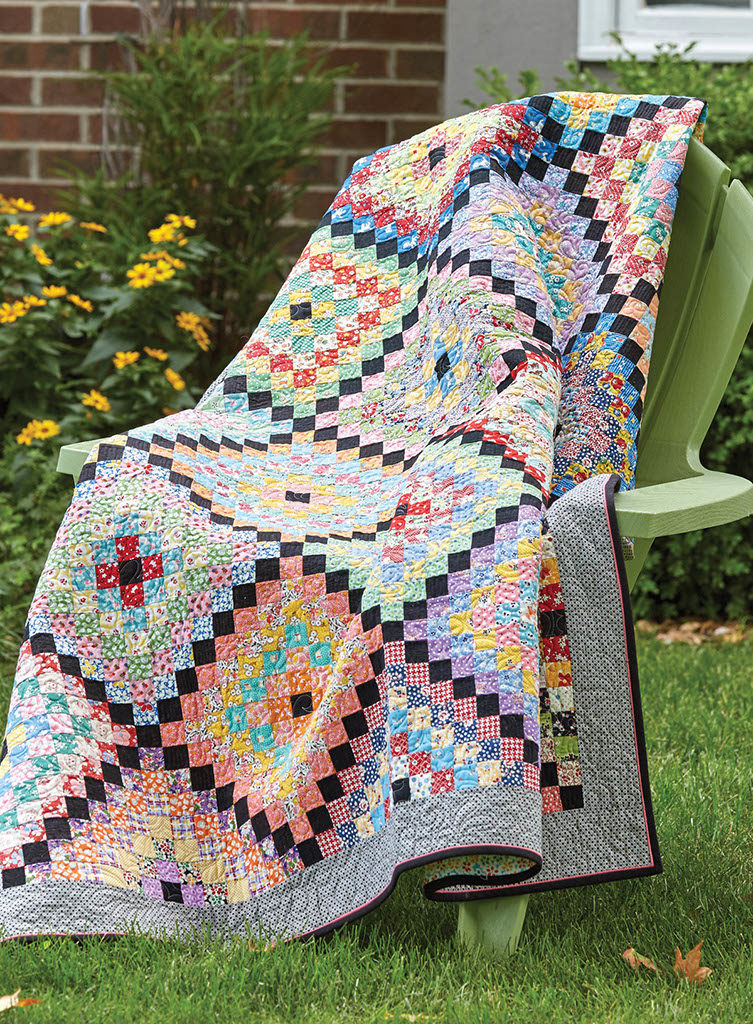 Vintage Charm Quilt - Fons & Porter - The Quilting Company : charm quilt - Adamdwight.com