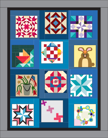 Vol 15 Setting 5 Quiltmaker's 100 Blocks Vol. 15 Blog Tour: Day 5