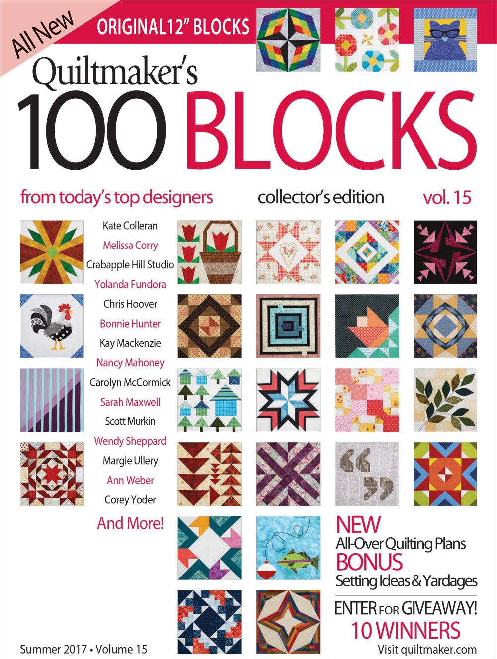 Vol15 COVER Coming Next Week: 100 Blocks Vol. 15 Blog Tour