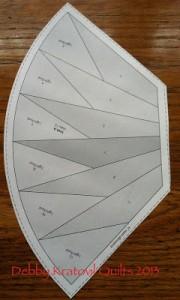 Waterwheels PatternA 180x300 Paper Piecing with Debby Kratovil