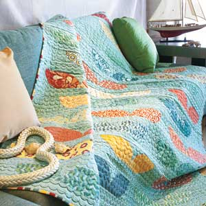 Whale's Tale: FREE Ocean Theme Bed Size Quilt Pattern Download ... : ocean themed quilt patterns - Adamdwight.com