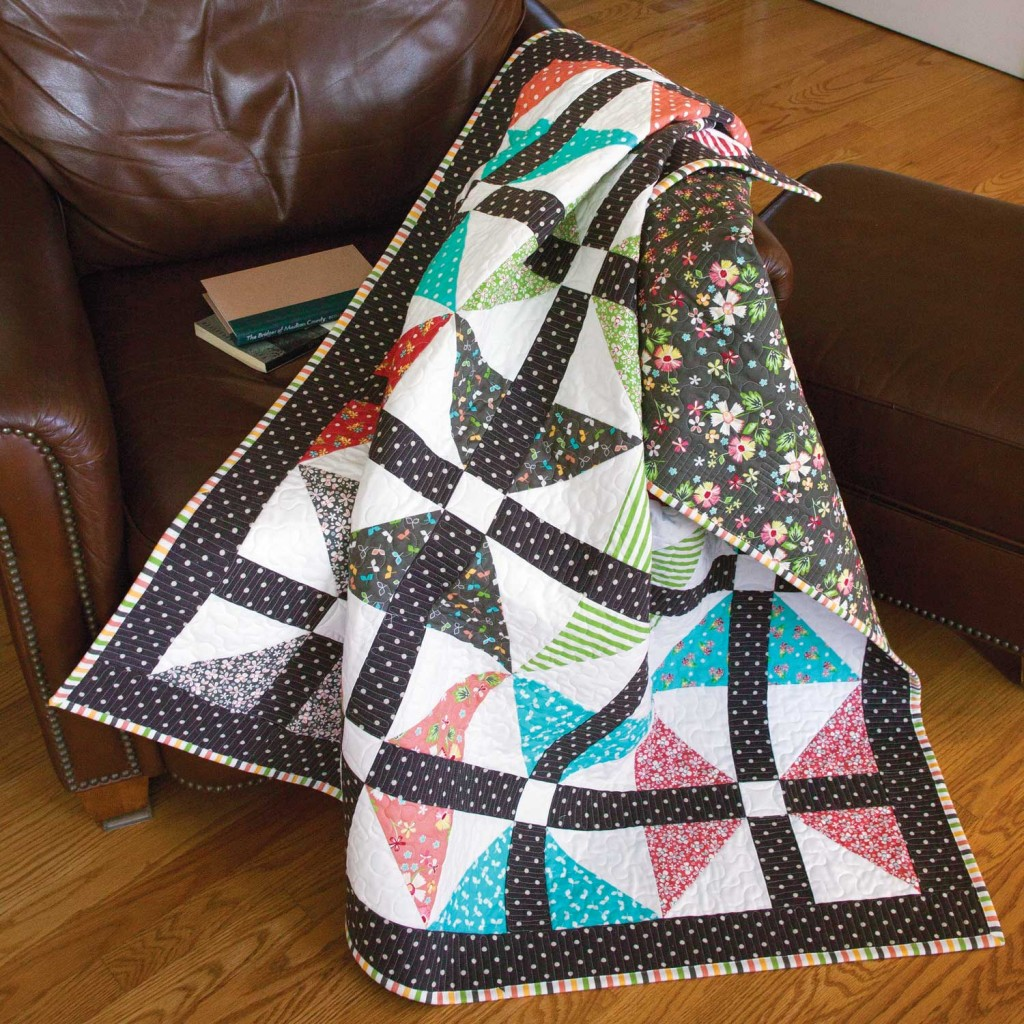 Friday Free Quilt Patterns: Wingin' It Queen Size Quilt | McCall's ... : queen size quilt patterns free - Adamdwight.com
