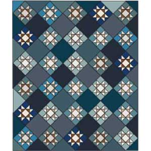 Winter Stars: FREE Ohio Star Lap Quilt Pattern - The Quilting Company : ohio star quilt pattern free - Adamdwight.com