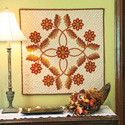 Woolen Welcome: Clever Reverse Applique Wall Quilt Pattern
