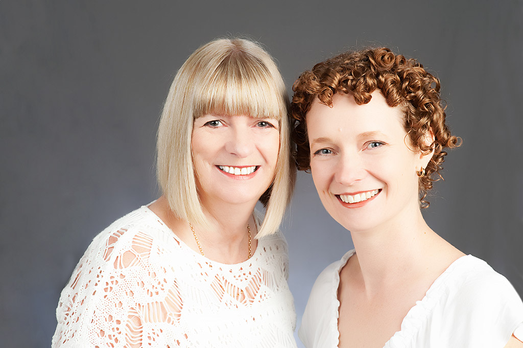 Rachael Wright and Christine Sharp -- Fons & Porter Contributor