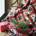 Yuletide Joy: Seasonal Throw Quilt Pattern