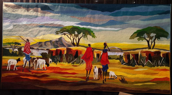 african Photos of Quilts from International Quilt Festival 2016