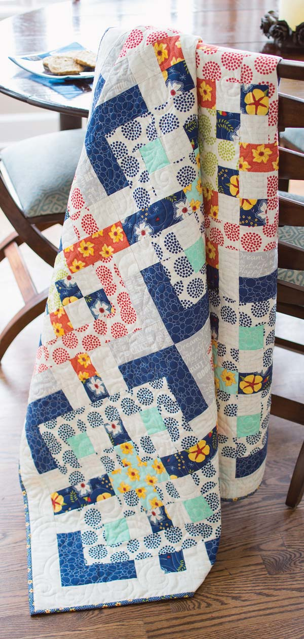 All In Knots Quilt Fons Amp Porter The Quilting Company