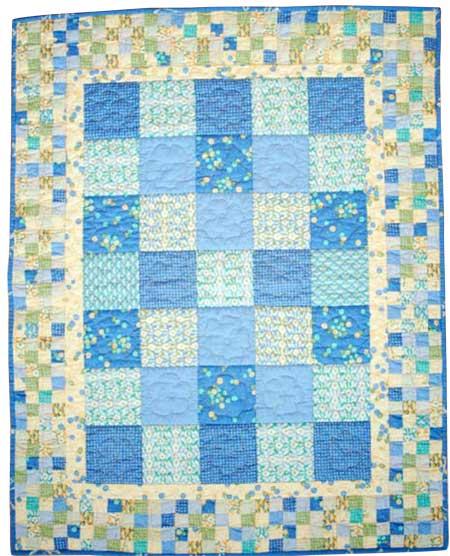 Friday Free Quilt Patterns: Newborn Snuggler Baby Quilt   McCall's ... : free baby quilt patterns - Adamdwight.com