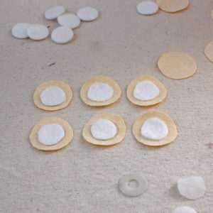 basting and stuffed circles circles 2 300x300 I Love Applique! Basting and Stuffed Circles