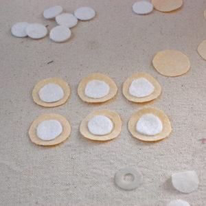 basting and stuffed circles circles 2 300x300 I Love Applique! Basting and Stuffed Circles