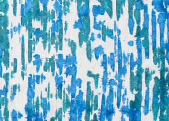 Batik Design: Resists from the Kitchen, Corn Syrup by Lisa Kerpoe