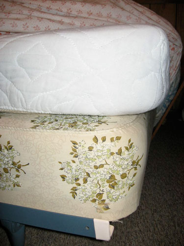 bed2 The Ever Thicker Mattress and Your Quilts
