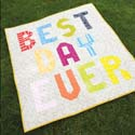 Best Day Ever: Wall Hanging Quilt Pattern