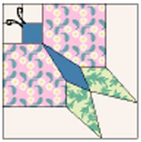 butterfly block Friday Free Quilt Patterns: Vintage Pieced Butterfly Quilt Pattern