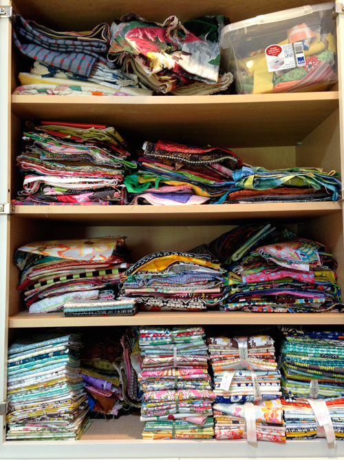 cabinets1 Stash Management 101: Tame Your Quilting Fabric