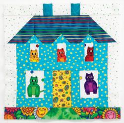 Debbie Caffrey's house block