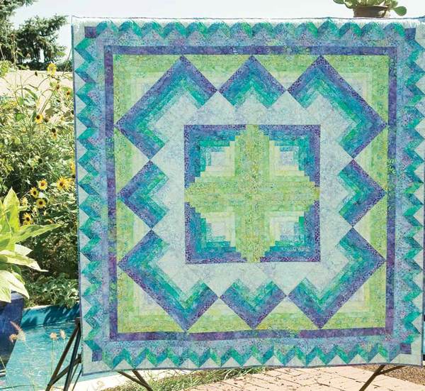 Friday Free Quilt Patterns: Caribbean Blue - The Quilting Company : blue quilt patterns - Adamdwight.com