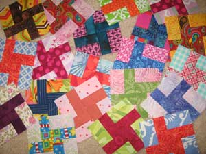 cc1239 Little Christmas Windmills: Free Quilt Pattern