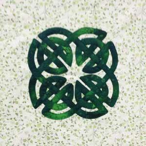 Celtic Knot Free Quilt Block Pattern