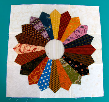 charm 11 Charm Square Dresdens—Free Quilt Block Pattern