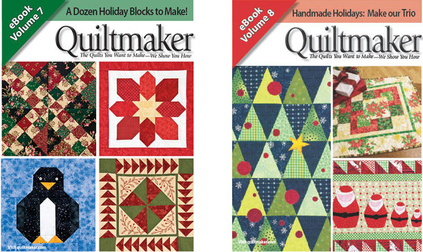christmas quilt free ebooks Finish Your Christmas Quilting! Fast + Easy Ideas