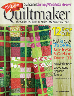 christmascover Its a Guy Thing: Quiltmakers 100 Blocks GIVEAWAY!!!