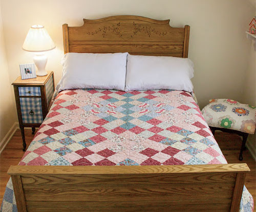 Cloud Nine quilt designed by Sarah Maxwell and Dolores Smith