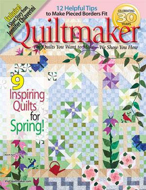 coveroptimized1 Quiltmakers Garden: Partial Seams Made Easy