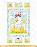 creative uses for fabric panels pippa the hen fabric panel Off the Wall: Creative Uses for Fabric Panels