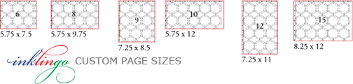 custom sizes 03 Inklingo: Hexagons with Linda Franz