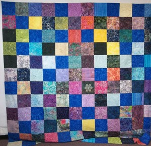 design wall 300x289 Design Wall Tuesday: Free Motion Machine Quilting