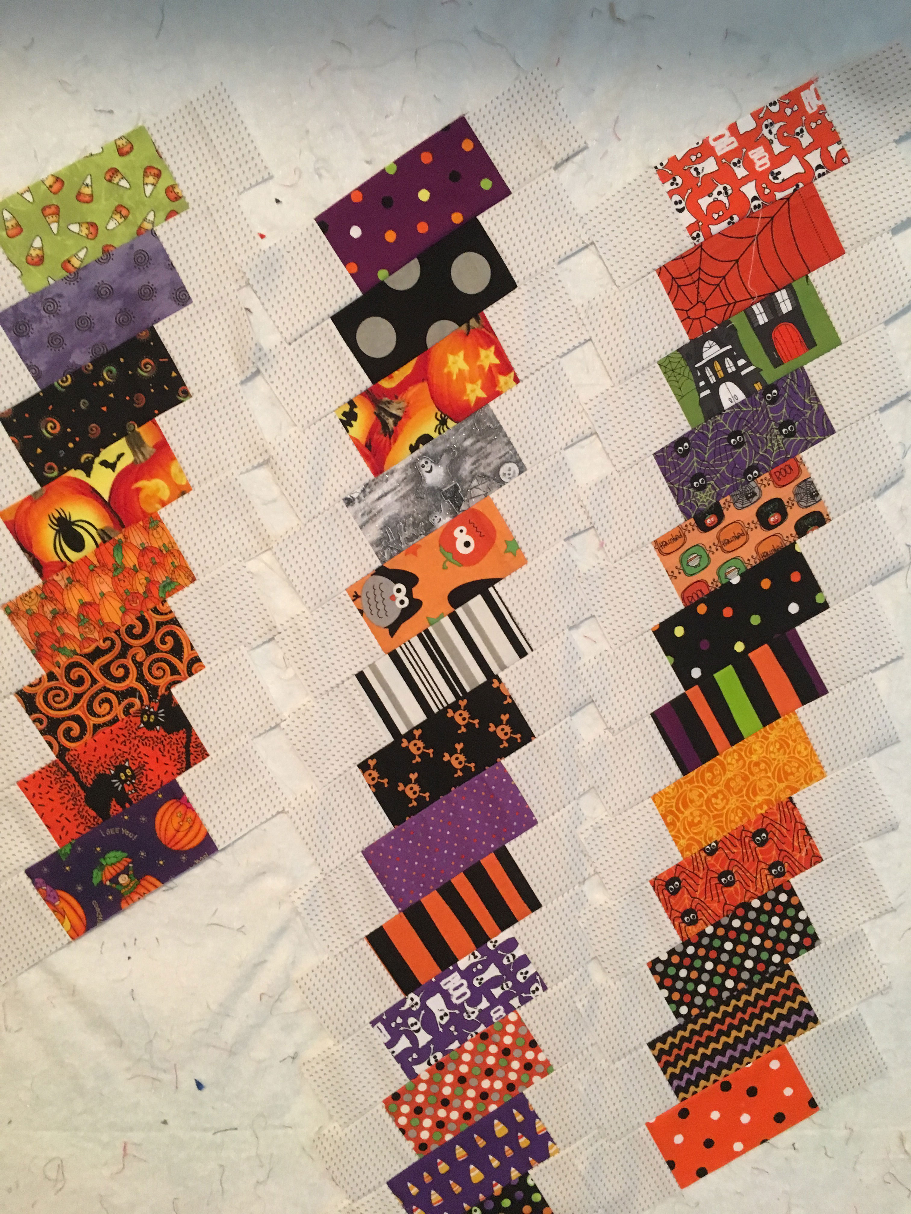 Design Wall Tuesday – Halloween Quilt - The Quilting Company : quilting wall - Adamdwight.com