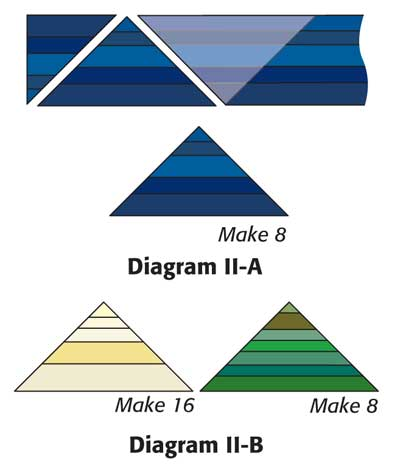 diagrams II 400px Friday Free Quilt Patterns: Super Strings Wall or Baby Quilt Pattern