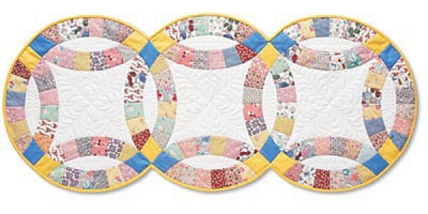Double Wedding Ring Quilt Pattern The Quilting Company