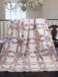 Friday Free Quilt Patterns: Double Wedding Ring | McCall\'s Quilting ...
