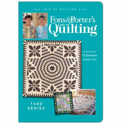 Fons & Porter's Love of Quilting 1400 Series