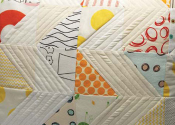 Design your own quilt from subtle to bright with this free eBook.