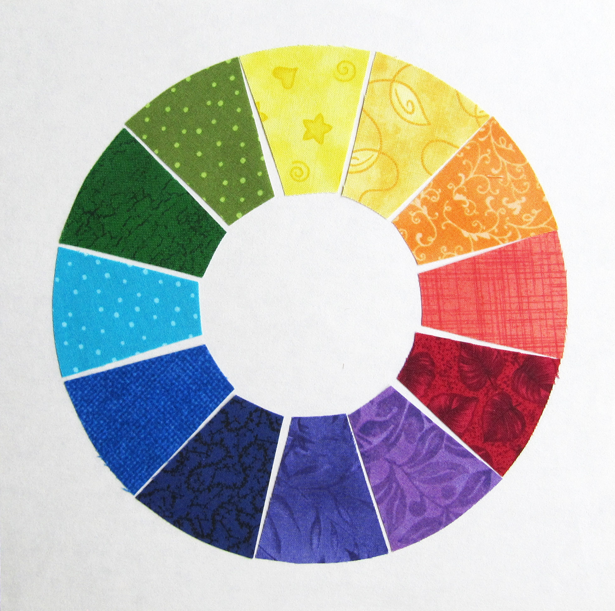 Color Wheel for Colorful Quilts