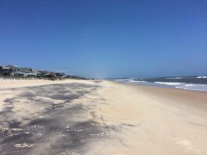 The beach on North Carolina's Outer Banks